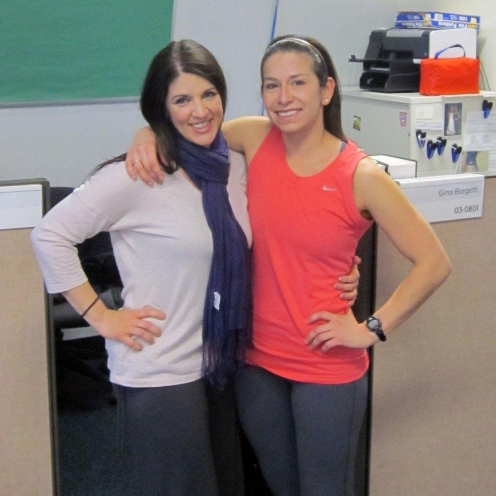 My boss at HealthFitness, Keli.