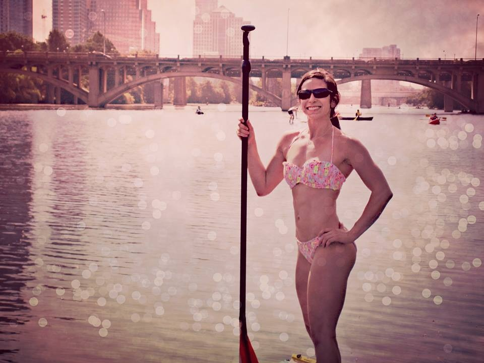 My birthday SUP experience on Town Lake
