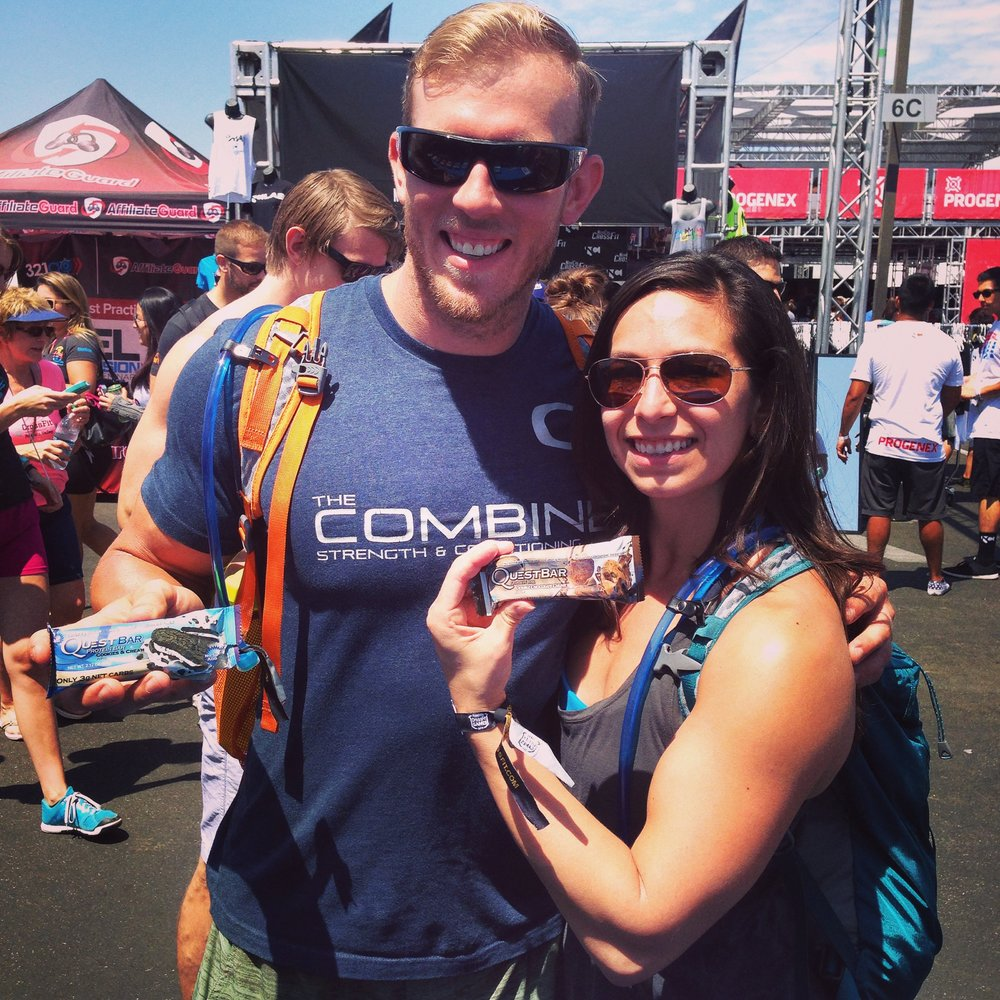 At the CrossFit Games, 2014.