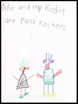 Why wouldn't your robot be a punk rocker?