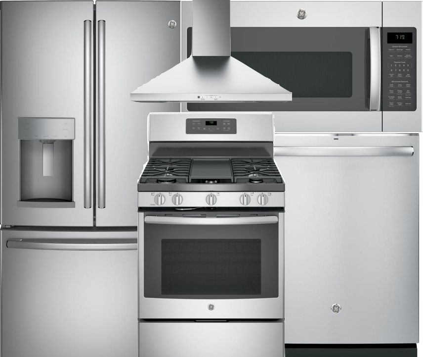 GE Appliance Package - We're offering highly rated and durable appliances by GE in Stainless Steel (does NOT include Refrigerator). The following items can be upgrade and added to the purchase price:- All Appliances Matte Black option- Refrigerator- Washer/Dryer