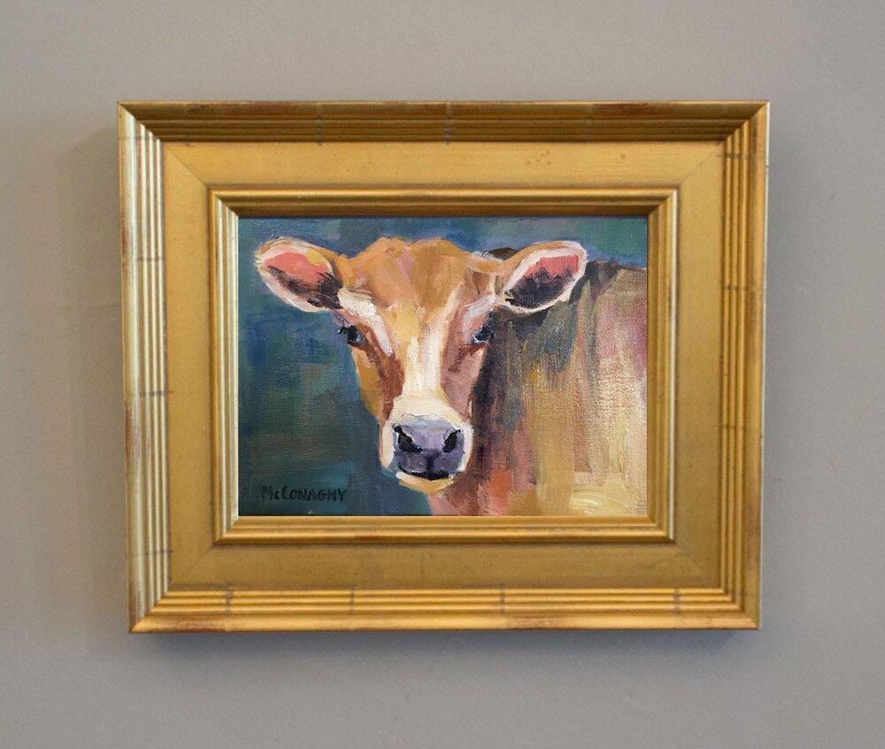 Blond Heifer