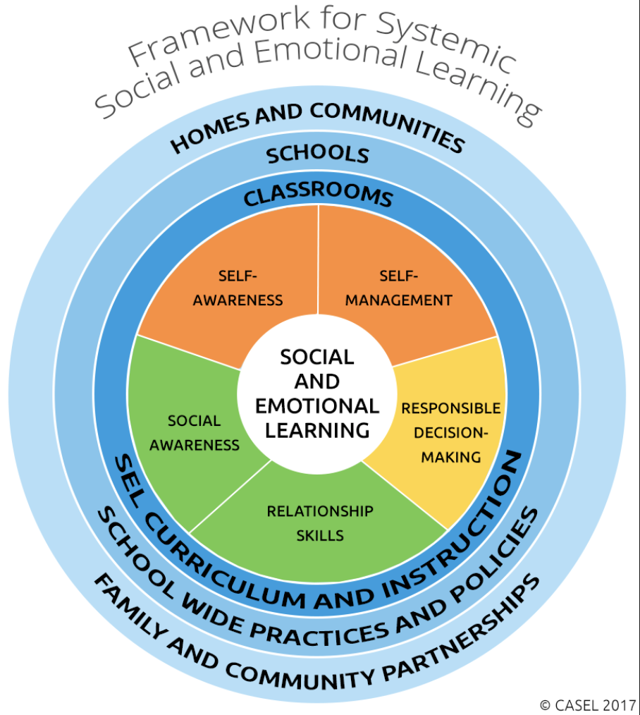 Industry Standard - Whether you elect to use our services or not, CASEL provides the gold standard framework for trauma-informed school designers.