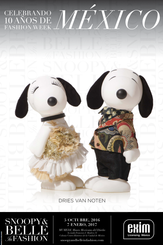 Snoopy & Belle in Fashion