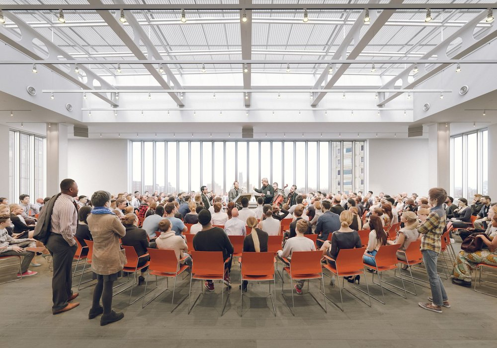 Columbia University to Open New Lenfest Center for the Arts Designed by Renzo Piano on April 22