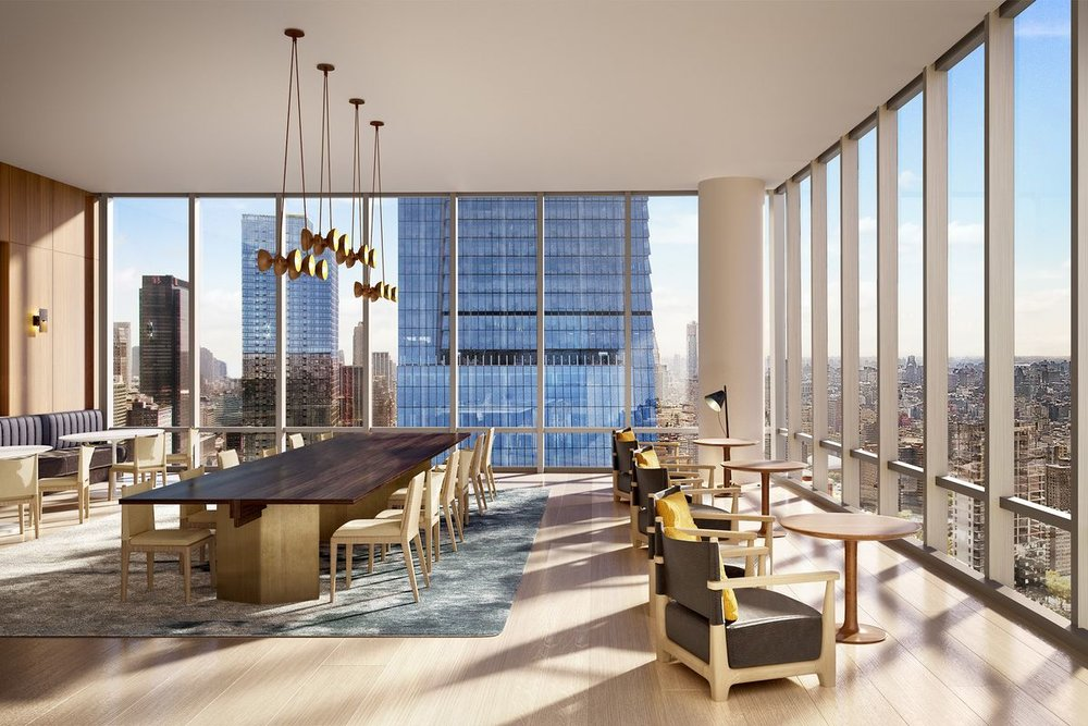 Atelier Conference Room Preview the Over-The-Top Amenities Coming to 15 Hudson Yards Related Companies Oxford Properties Rockwell Group Diller Scofidio + Renfro
