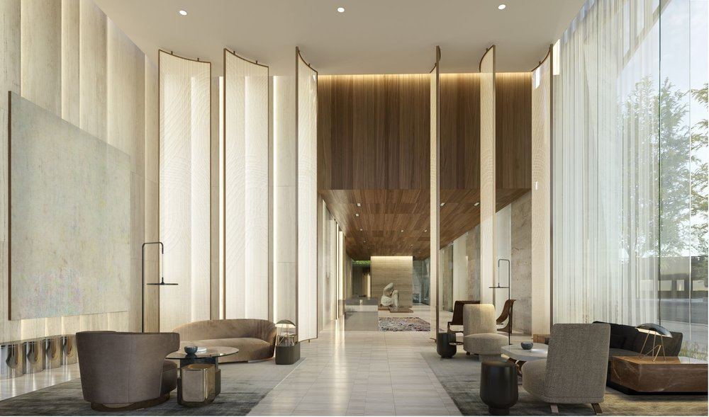 Lobby Preview the Over-The-Top Amenities Coming to 15 Hudson Yards Related Companies Oxford Properties Rockwell Group Diller Scofidio + Renfro