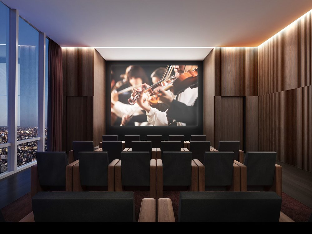 Screening Room Preview the Over-The-Top Amenities Coming to 15 Hudson Yards Related Companies Oxford Properties Rockwell Group Diller Scofidio + Renfro