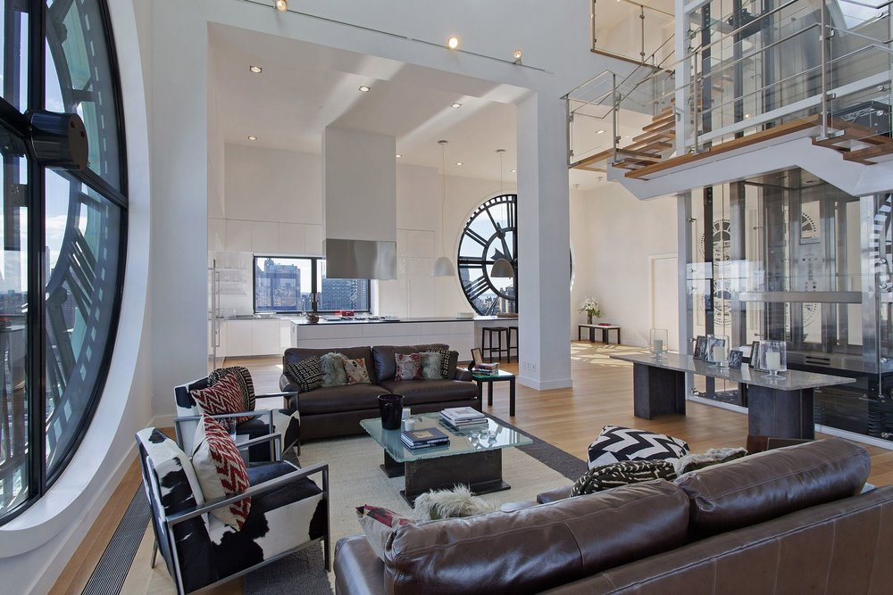 Dumbo Clocktower Penthouse in Brooklyn Sells for $15 Million
