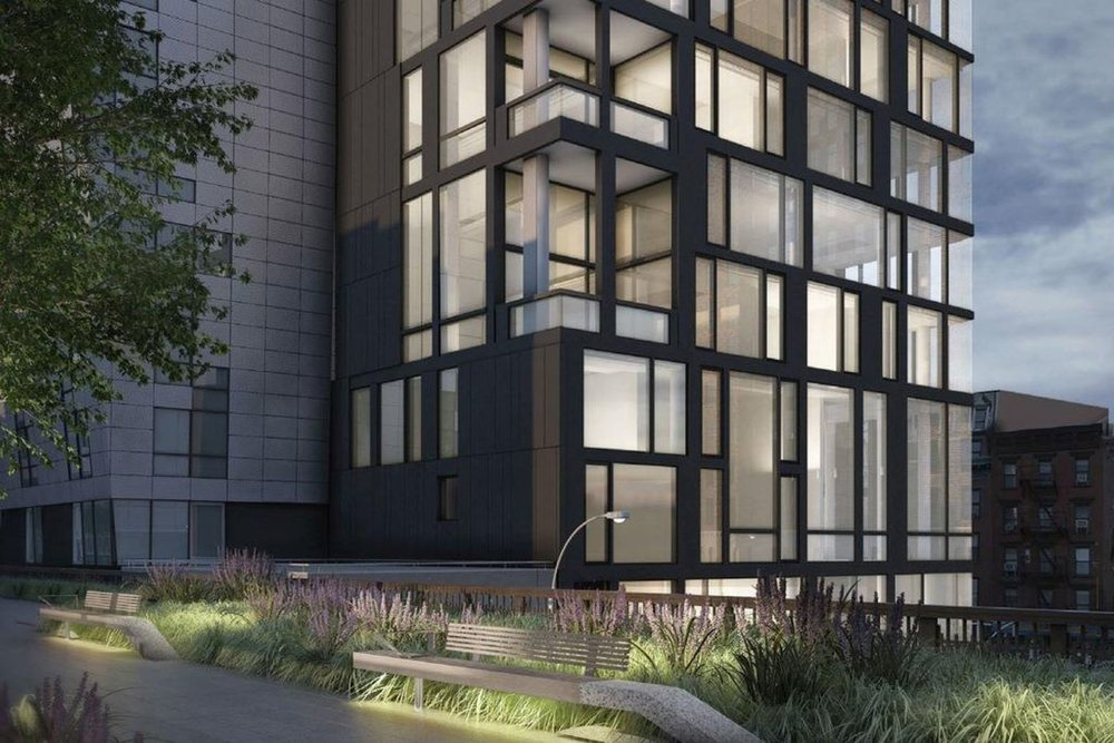 Peter Marino Designed The Getty at High Line Releases New Renderings, Cruises Towards Completion