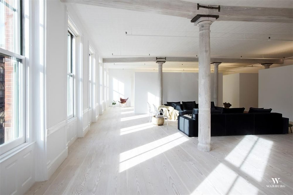 Featured Listing: Industrial Style Loft at 84 Mercer Street Lists for $11.5 Million 4E