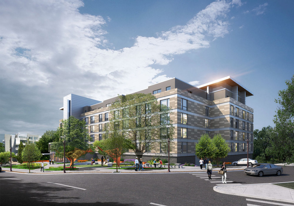A New 6-Story, 77-Unit Residential Project Approved in White Plains 1 Dekalb Avenue