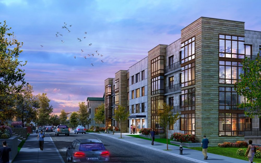179-Unit, 5 Building Residential Project Proposed Along North MacQuesten Parkway in Mount Vernon