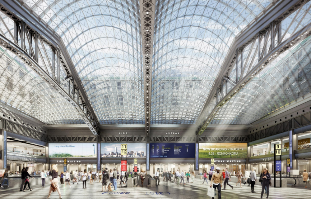 Penn Station to Move Forward with $1.6 Billion Revamp, Construction to Begin with Expected Completion 2020