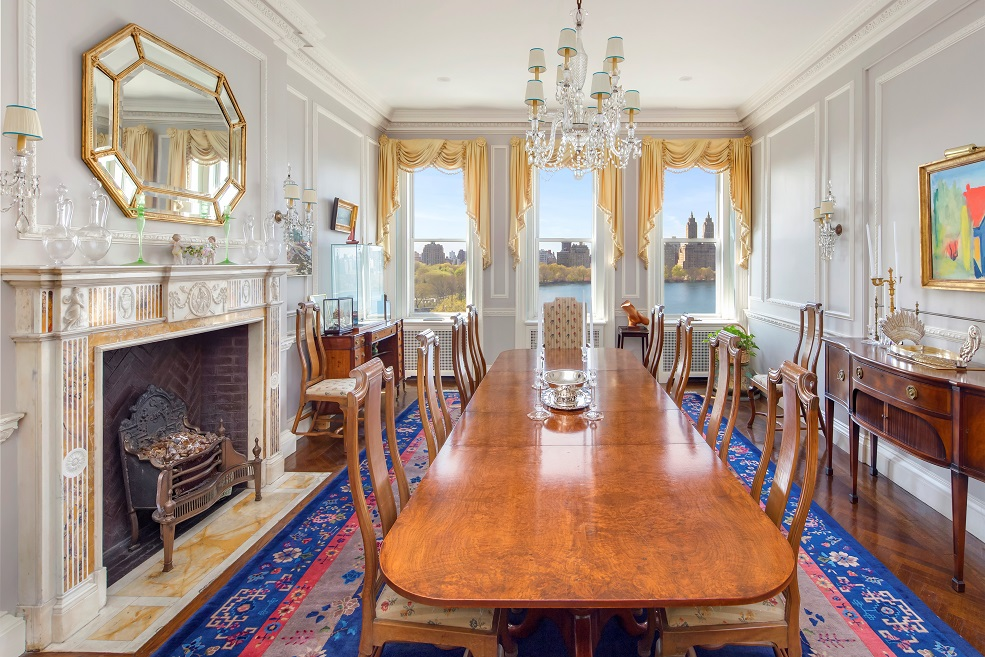 Featured Listing: Fifth Avenue Co-Op with Central Park Views Back on Market for $38 Million