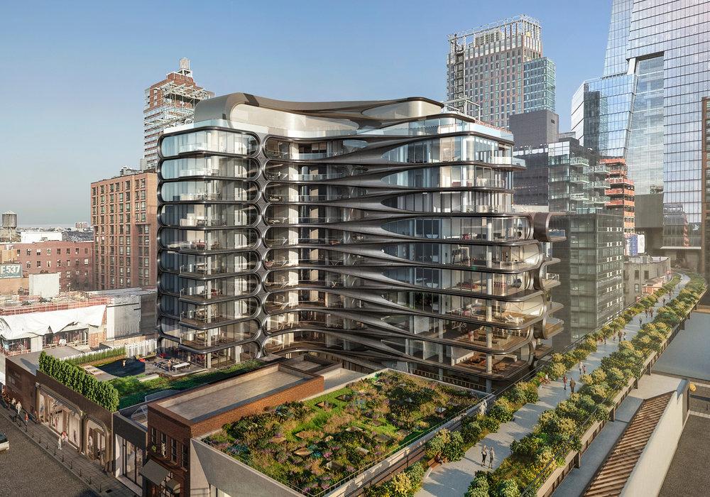 Zaha Hadid's 520 W 28th Street