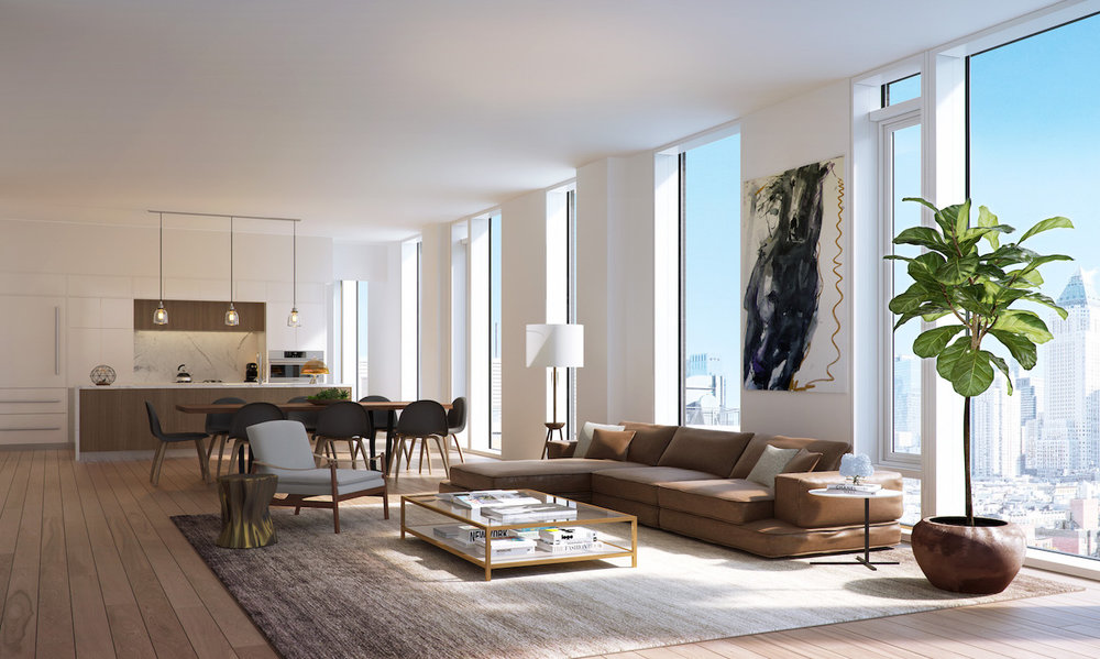 Sales Have Launched at Charlie West in Hell's Kitchen, Designed By ODA New York