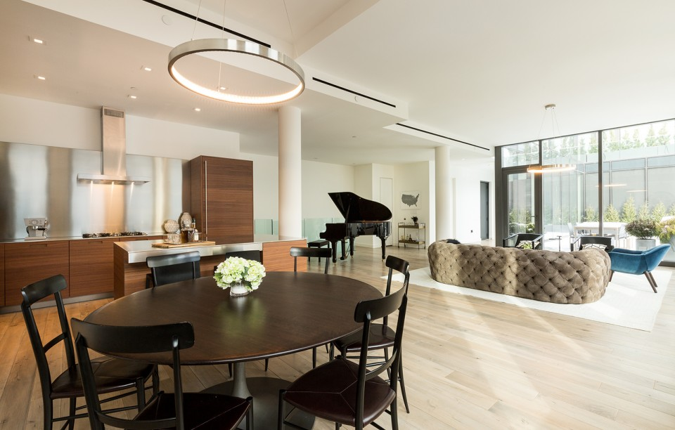 Featured Listing: 4-Bedroom Penthouse Unit at The ODA Designed 15 Renwick Asks $8.9 Million