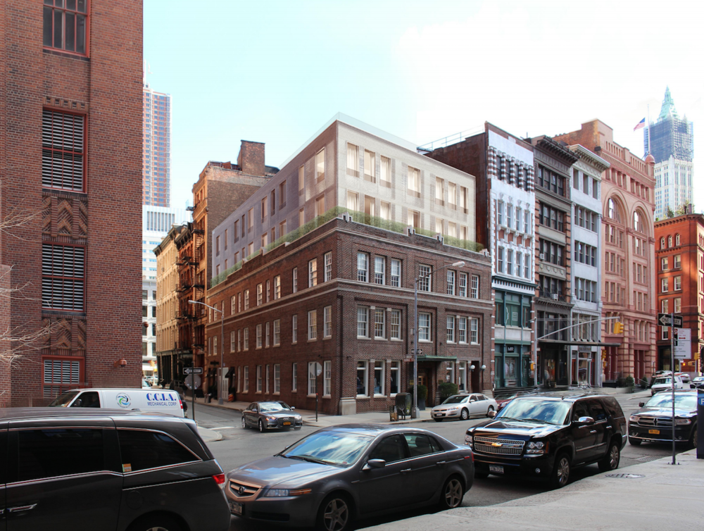 Proposed Renovation for 50 Hudson Street Inches Closer to Approval