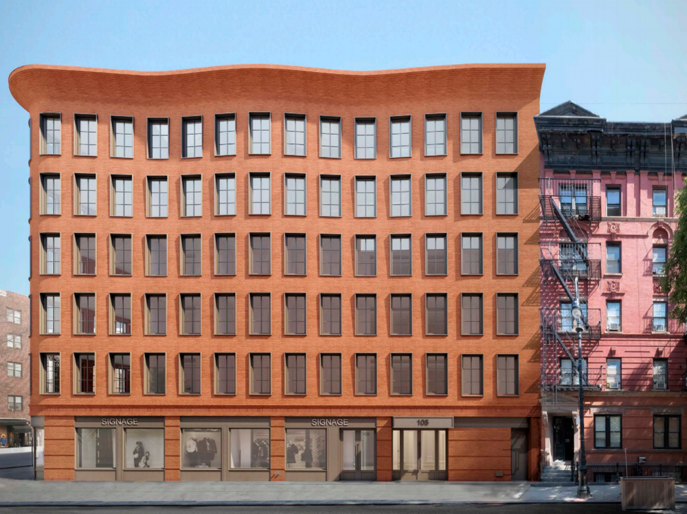 Renderings for 540 Hudson Street Designed by Morris Adjmi Architects Unveiled