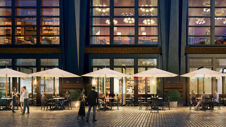 Legacy Records To Be The First Restaurant To Open in Hudson Yards at Henry Hall