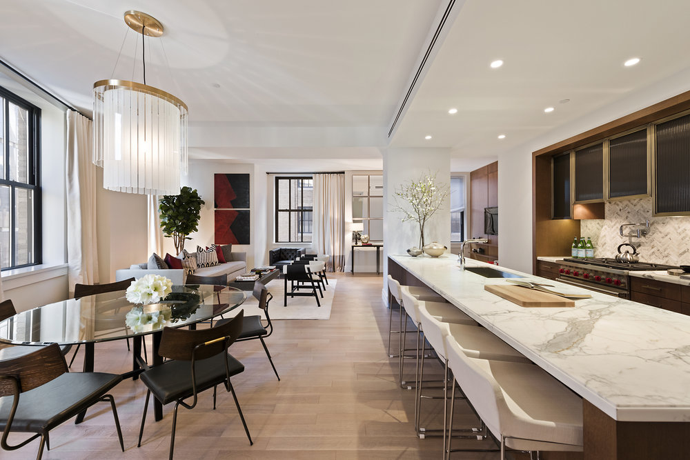 Inside One Hundred Barclay, The Original New York Telephone Company Headquarters Condo Conversion