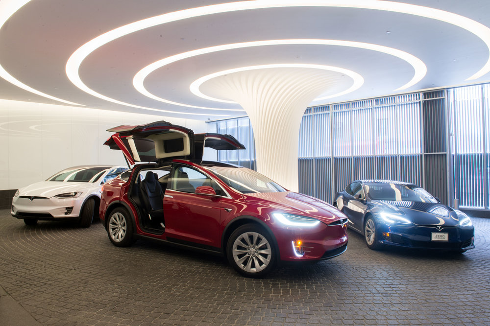 Tesla & SOM's 252 East 57th Host Experimental Event Bringing the Model S and Model X to Billionaire's Row