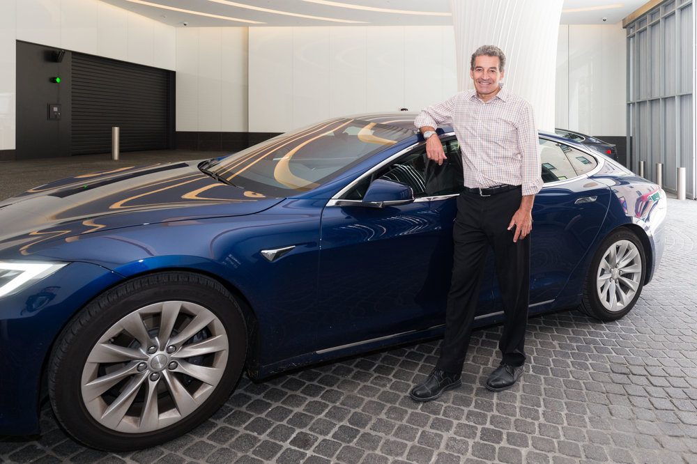 Tesla Hosts Experimental Event at SOM's 252 East 57th