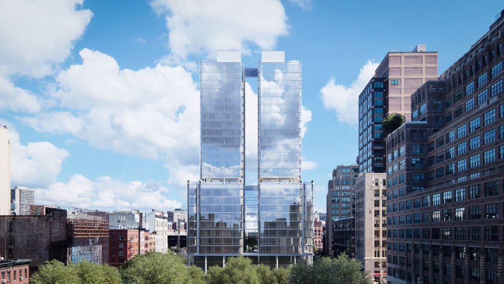 Construction Update: The Renzo Piano Designed 565 Broome Street Reaches Halfway & Begins to Transform the Soho Skyline
