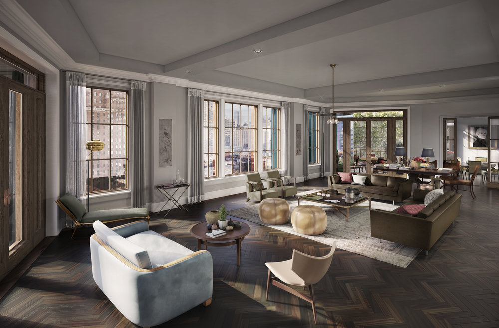 Douglas Elliman's Raphael De Niro and Maggie Leigh Marshall Tapped to Oversee Sales at The Fitzroy, Set Along the High Line in West Chelsea