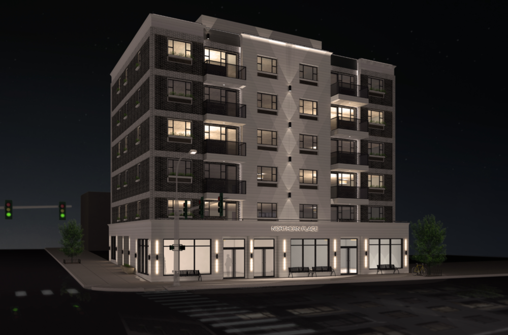 Renderings Revealed for Lu Ning-Designed 32-65 107th Street in Queens