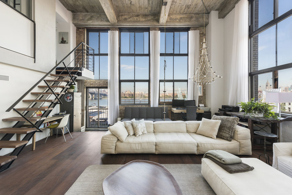 Featured Listing: Industrial-Style Williamsburg Loft in The Esquire Building Asks $5.5 Million