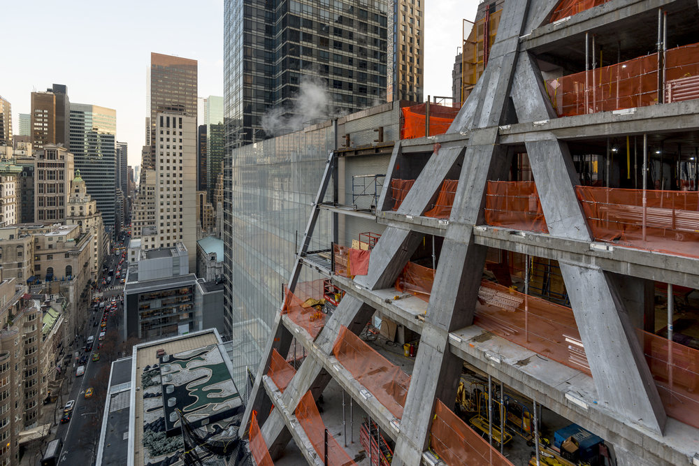 53W53 - Photo by Giles Ashford Construction Update: Check-Out An Exclusive Behind-The-Scenes Look at Construction as 53W53 Reaches the 58th Floor