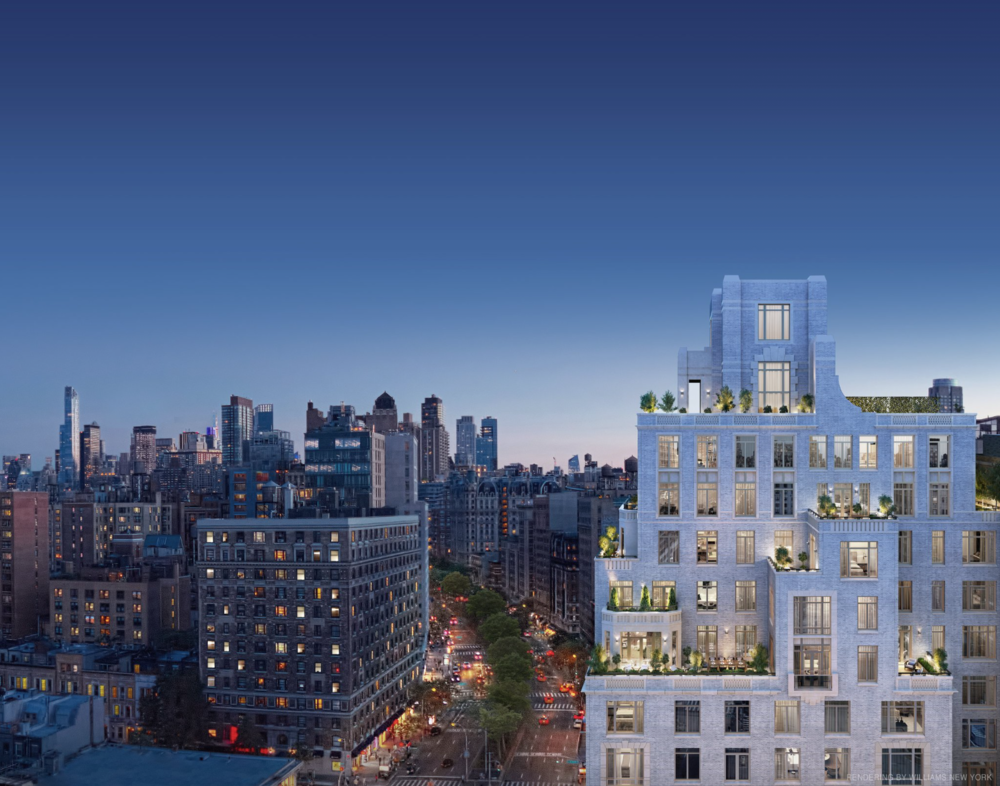 New Interior Renderings Revealed Of The Robert A.M. Stern-Designed 250 West 81st Street