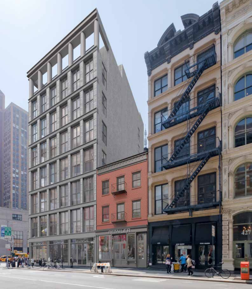 Check-Out The New Renderings The Morris Adjmi Architects-Designed 419 Broadway in SoHo