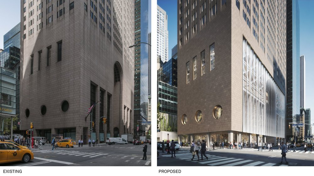 Check-Out the Snøhetta-Designed Proposal To Revamp to 550 Madison Avenue Which Is Already Causing Drama