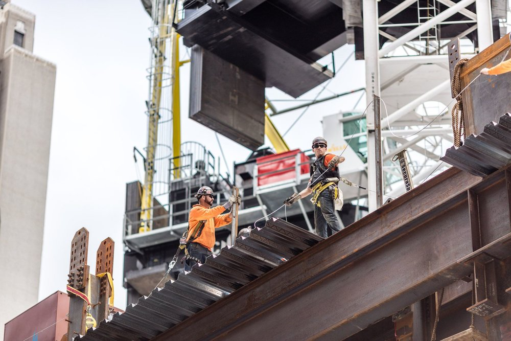 Construction Update: Behind-The-Scenes at SL Green's, Grand Central Station Hugging Supertall One Vanderbilt