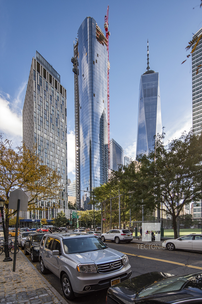 Check-Out The New Construction Imagery of Fisher Brothers' KPF-Designed 111 Murray Street