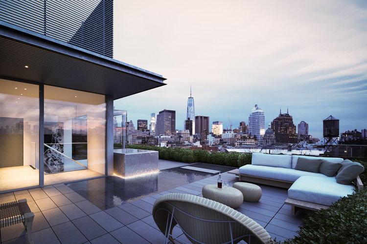 The $35 Million Penthouse Just Sold at Tadao Ando\'s 152 Elizabeth ...