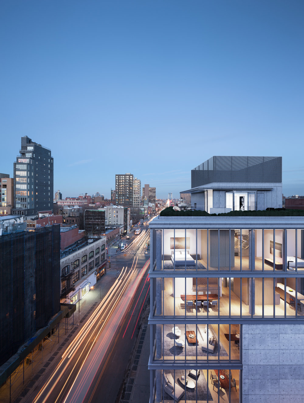 The $35 Million Penthouse Just Sold at Tadao Ando's 152 Elizabeth Street, Check Out the Japanese Architects First NYC Project