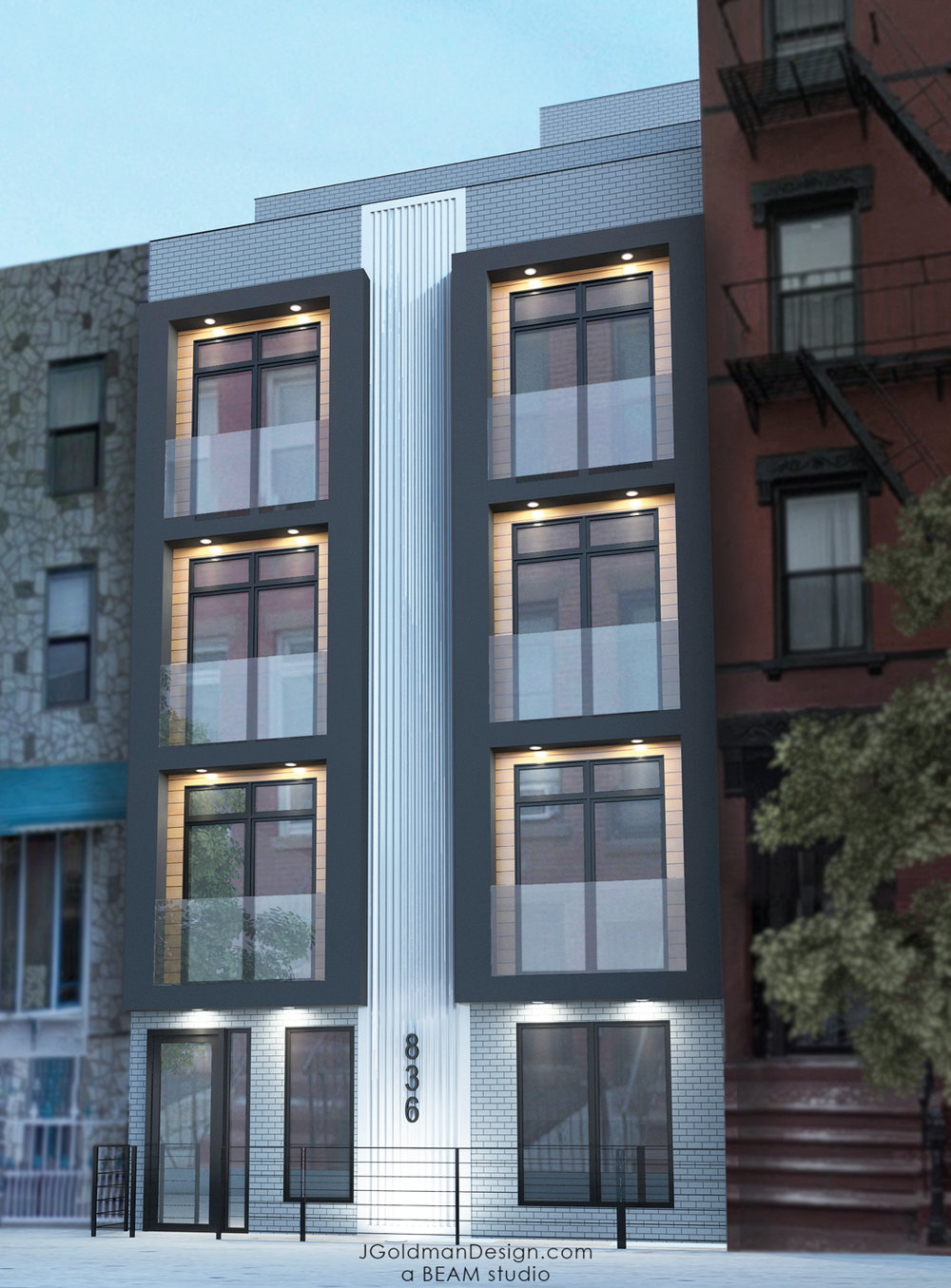 Beam Group Unveils Their Newly Designed 836 Monroe Street In Ocean Hill, Brooklyn