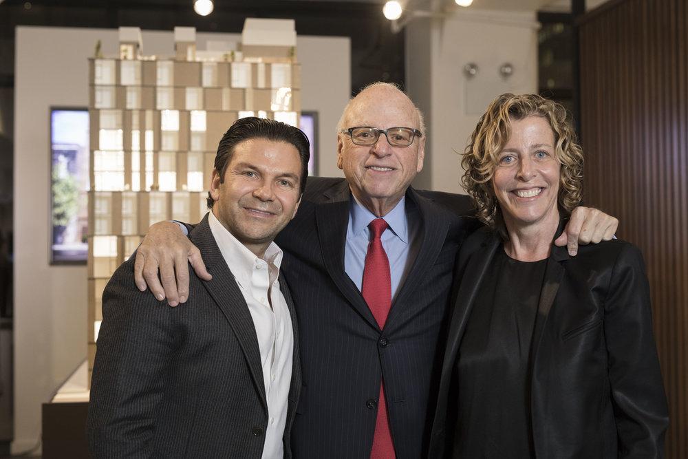 Darren Sukenik, Howard Lorber and Patty LaRocco