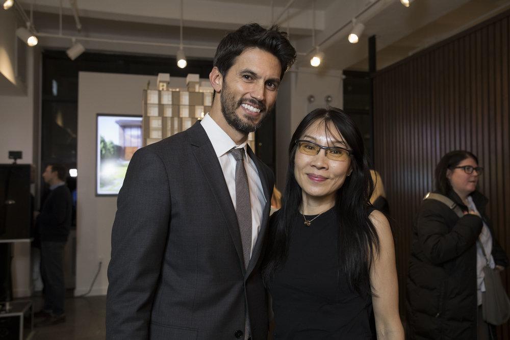 Jared LeFrenais and Sherri Shang
