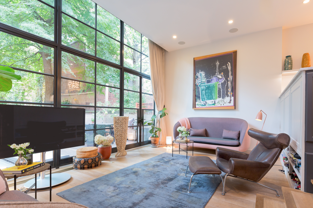 Featured Listing: Escape In The Lush Gardens Of This West Chelsea Townhome Asking $11 Million