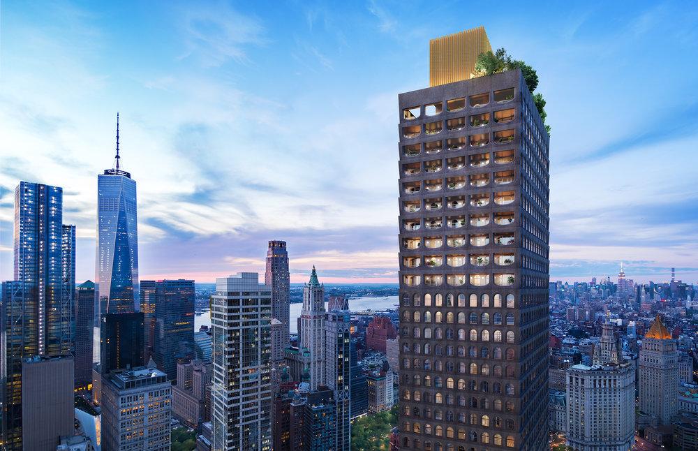 Lightstone And Sir David Adjaye Announce Collaboration On 130 William, Adjaye's First NYC Condo Tower