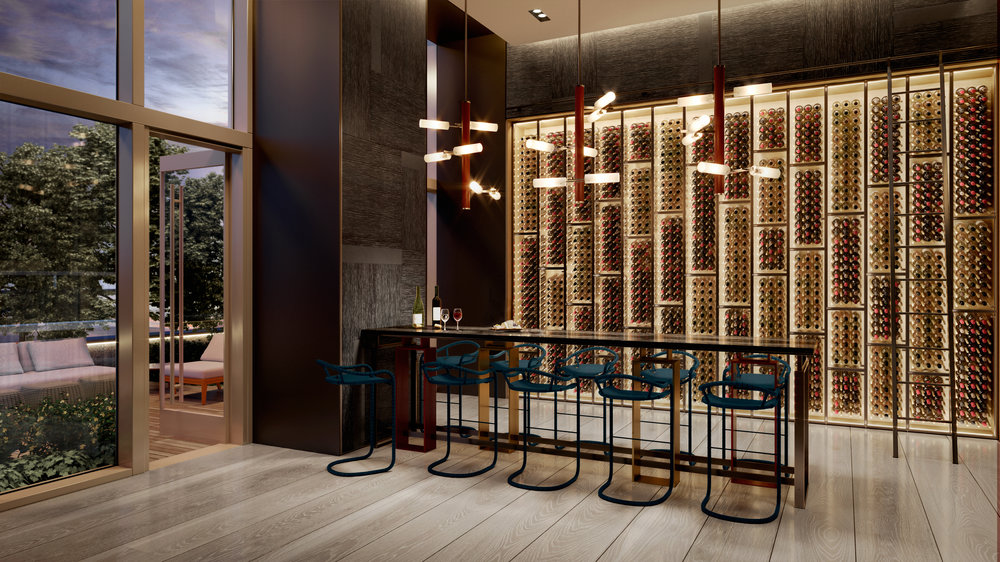 Brooklyn's Tallest Building, Brooklyn Point, Just Unveiled Their Katherine Newman-Designed Interiors