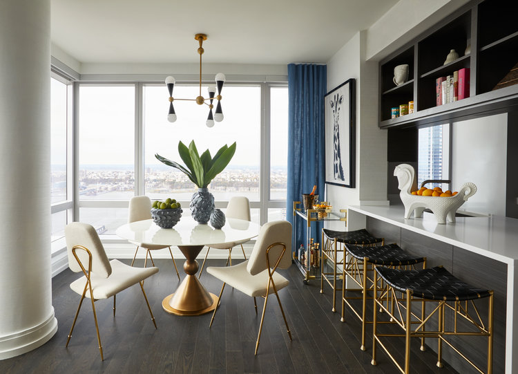Jonathan adler designed oasis in the sky revealed at extells 555ten in hells kitchen