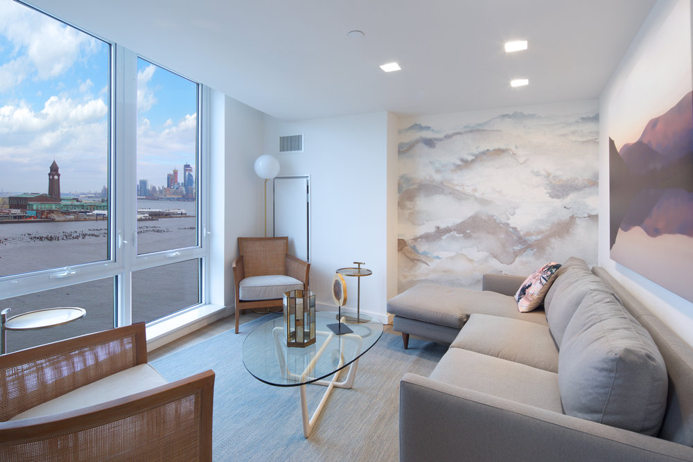 LeFrak Unveils Luxurious Amenities At Ellipse, Jersey City's New Riverfront Rental Tower
