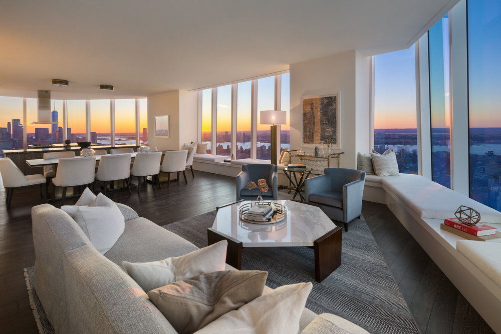 Madison Square Park Tower Reveals FIFTY FOUR, Their 54th Floor Private Resident's Lounge Designed by Martin Brudnizki Design Studio