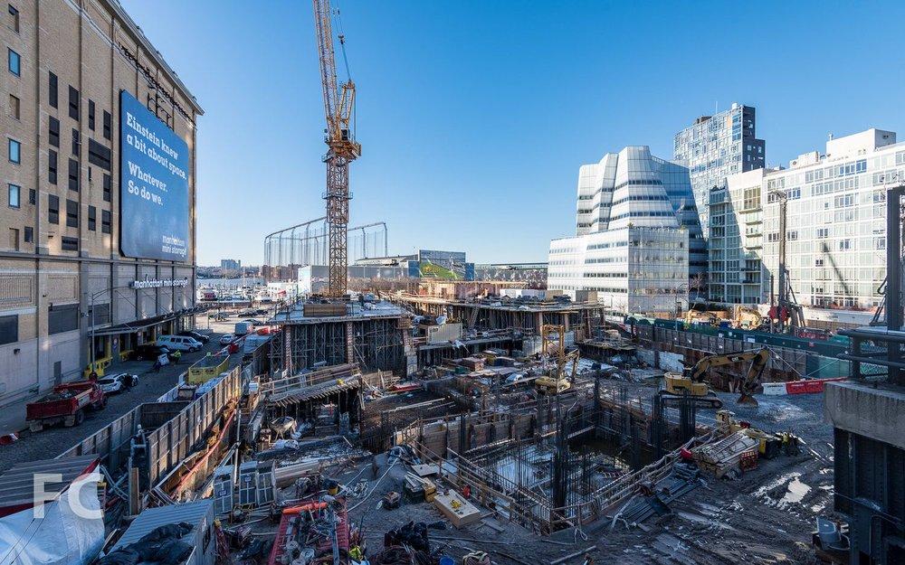 Construction Update: The Bjarke Ingels-Designed, High Line Hugging 76 Eleventh Avenue Hits Vertical Rise